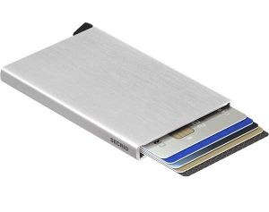 Secrid Cardprotector C Brushed Silver Lompakko 2