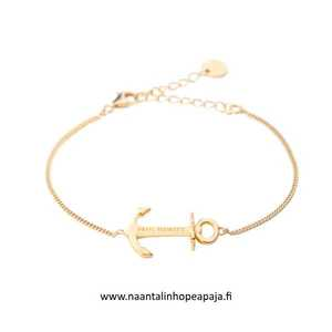 Bracelet Anchor Spirit 18K Plated Gold