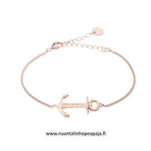 Bracelet Anchor Spirit 18K Plated Rose Gold