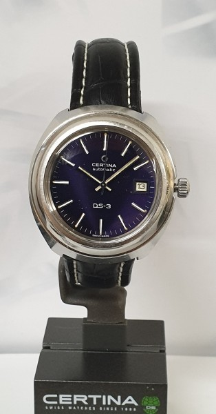 Certina DS-3, cal 919-1 automatic